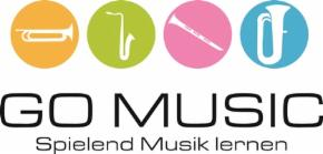 Logo GO Music des Bläsercorps Godshorn