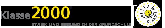 Logo Klasse 2000 - STARK UND GESUND in der Grundschule